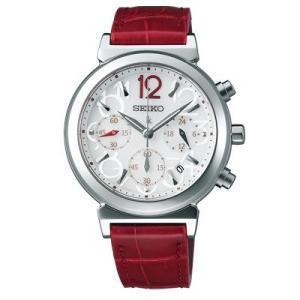 SEIKO LUKIA セイコー ルキア レディース ソーラー クロノグラフ腕時計 シルバー SSVS017 ネコポス不可|seiko3s|02