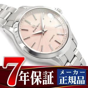 グランドセイコー メカニカル 手巻き付き レディース 腕時計 ピンクダイアル ステンレスベルト STGR207|seiko3s
