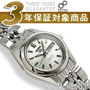 逆輸入SEIKO5 セイコー5 レディース 自動巻き 腕時計 シルバーロゴダイアル SYMA27K1【ネコポス不可】|seiko3s