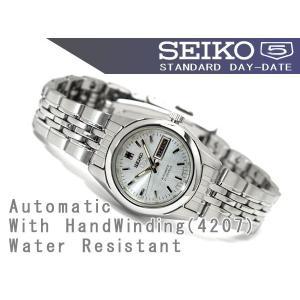 逆輸入SEIKO5 セイコー5 レディース 自動巻き 腕時計 シルバーロゴダイアル SYMA27K1【ネコポス不可】|seiko3s|02