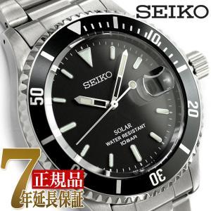 セイコー SEIKIO  ヴィンテージデザイン ソーラー メンズ 腕時計 SZEV011|seiko3s