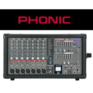 激安 パワードミキサー PHONIC/フォニック  POWERPOD 740R|seikodo