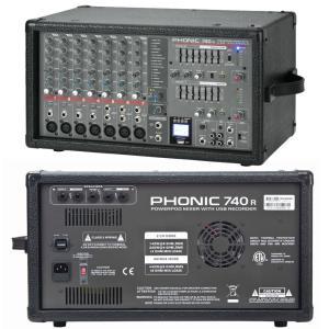 激安 パワードミキサー PHONIC/フォニック  POWERPOD 740R|seikodo|02