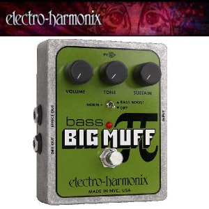 electro-harmonix /Bass Big Muff Pi Distortion/Sustainer|seikodo