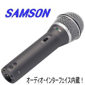 SAMSON Q2U USB ダイナミックマイク  seikodo