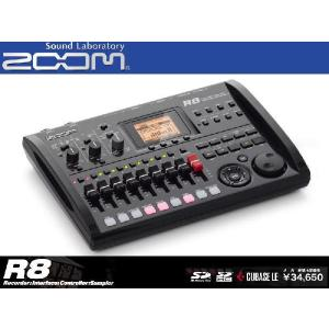 ZOOM マルチトラックレコーダー/サンプラーR8 Recorder Interface Controller Sampler ズーム seikodo