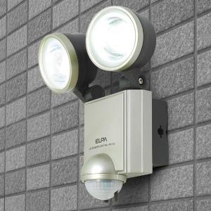 (AC電源) LED×2灯・防雨センサーライト ESL-402AC|seileds
