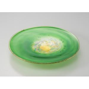 彩華 大皿 ハンドメイド 金箔   箔一  おもてなし 来客用   HAKUICHI STYLE  金沢箔|seileds