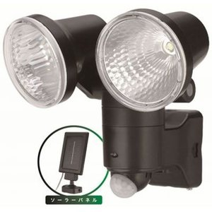 売切れ御免!ソーラー式 1W LED×2 センサーライト SL12LEDS|seileds