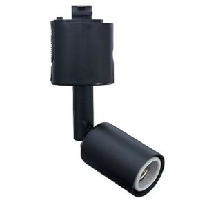 売切れ御免!スポットライトショート ブラック E17口金 ランプ別売 LCX4024BK|seileds