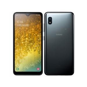 セイモバイル★SIMフリーau Galaxy A20 SCV46 ブラック 新品未使用品|seimobile