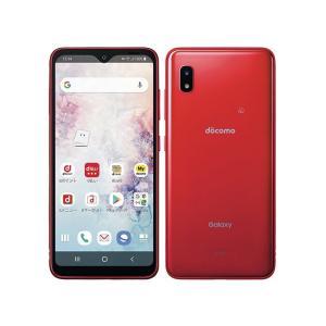 セイモバイル★SIMフリーdocomo Galaxy A20 SC-02M 赤 新品未使用品|seimobile