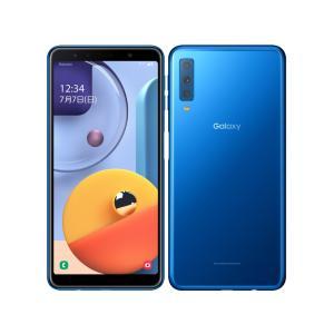 セイモバイル★国内SIMフリー Galaxy A7 SM-A750C ブルー 新品未開封品|seimobile