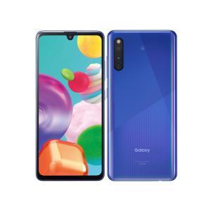 セイモバイル★SIMフリーAU Galaxy A41 SCV48 ブルー 新品未使用品|seimobile