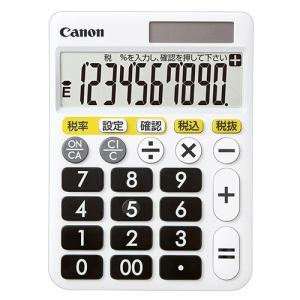 電卓 くっきりはっきり電卓 卓上タイプ 10桁 HF-1000T Canon|seirindou
