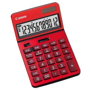 ビジネス電卓 チルト式卓上タイプ 12桁 KS-1220TU-RD Canon|seirindou