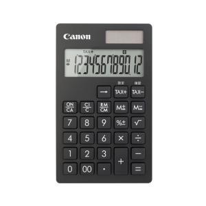 電卓 手帳タイプ 12桁 KS-12T-BK Canon|seirindou