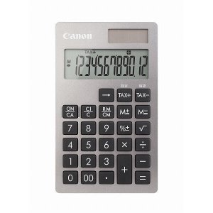 電卓 手帳タイプ 12桁 KS-12T-SL Canon|seirindou