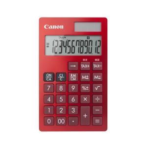 電卓 手帳タイプ 12桁 KS-12T-RD Canon|seirindou