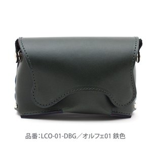 カメラケース レザー SONY RX100シリーズ対応 オルフェ01 鉄色 山田屋写真用品 LCO-...
