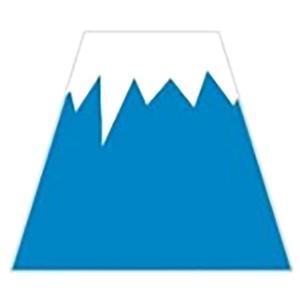 越前の和紙 ろまん厚紙コースター 富士山型コースター 5枚入【在庫僅か】タイミングによってはご用意できない場合がございます。|seirindou