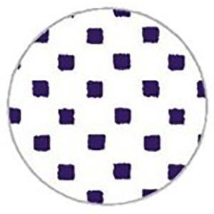 コースター 厚紙 丸形 豆紋 10枚入 越前の和紙 ろまん|seirindou