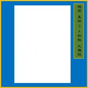 越前和紙 大雅紙 白 B5(20枚) 0.15mm ME-001B5|seirindou