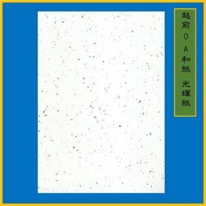 越前和紙 光輝紙 白 B5(20枚) 0.15mm ME-101B5|seirindou