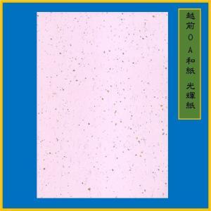 越前和紙 光輝紙 ピンク B5(20枚) 0.15m ME-103B5|seirindou