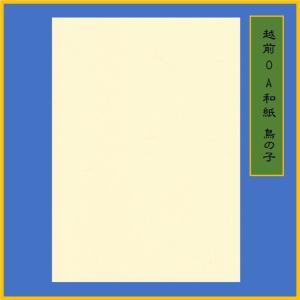 越前和紙 NEW鳥の子 生成 A4(15枚) 0.22m ME-313|seirindou