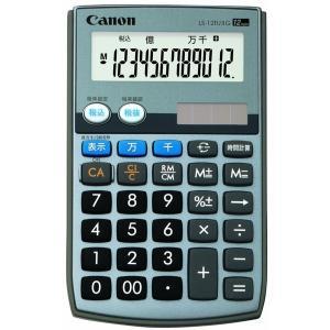 電卓 手帳タイプ 12桁 LS-12TU II G Canon|seirindou