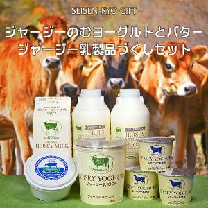 ジャージー飲むヨーグルトとグラスフェッドバター、ジャージー乳製品づくしセット|seisenryo