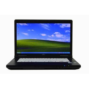ノートパソコン 中古 パソコン Windows XP Professional オフィス付き  富士通 LIFEBOOK A8295 15.4 WXGA Celeron 900 2.20G メモリ:4G HD:160G DtoD WiFi seishinsj 03