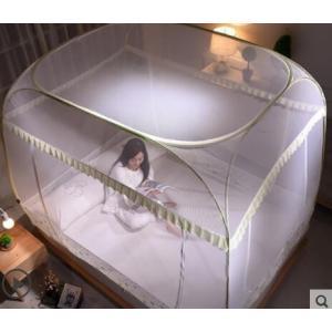 蚊帳 かや ムカデ対策 底付き ワンタッチ蚊帳 |シングル|ダブル|クィーンサイズあり