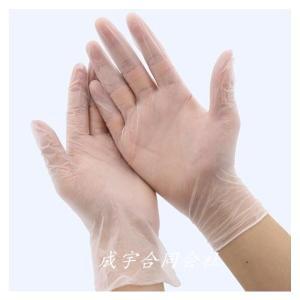 PVC素材 予防対策 使い捨て手袋 LDPE食品グレード 極薄 天然ゴム手袋100枚 フリーサイズ 衛生管理 男女兼用 介護 看護|seiu