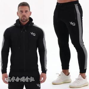スウェット上下2点セット メンズ フード付き パーカー&ロングパンツ 運動着 スポーツウェア トレーニング フィットネス  吸汗 速乾 ジョギング 彼氏 3色|seiu