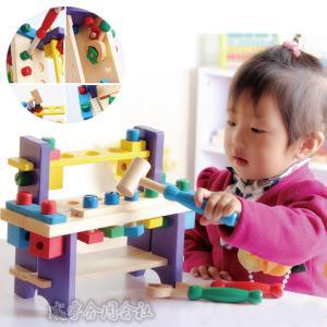 知育玩具 1歳〜4歳 木のおもちゃ 赤ちゃん 出産祝い 誕生日 プレゼント 木製 ウッデントイ ちいさなだいくさん 玩具 クリスマスプレゼント seiu