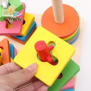 子供 木製 おもちゃ 積み木 知育玩具 考える 遊び 指先知育 積木 木製パーツ 積木セット 0歳〜4歳 出産祝い 誕生日 プレゼント seiu