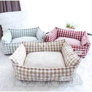 ペットベッド クッション 犬猫用 猫 ベッド 矩形 ふわふわ ボリューム 厚手 防寒 暖かい ペットソファ 寝床 ドッグベッド 洗える 小型 中型 大型 おしゃれ 冬用 seiu