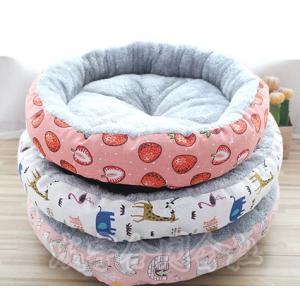 犬ベッド 猫ベッド ペット ベッド クッション ふわふわ 柔らかい 暖かい ボリューム 厚手 防寒 冬用 マット 洗える 可愛い ペットハウス 小型 中型 大型 seiu