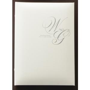(ゲストブック)芳名帳ウェディングゲストカード   1182