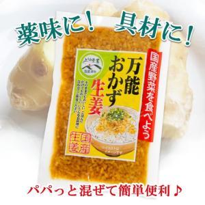 万能 おかず生姜 しょうが醤油漬け 刻み生姜 薬味に ご飯に 130g  (40214) sekainoyamgen