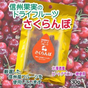 ドライフルーツ 国産 無添加 さくらんぼ  信州果実のドライフルーツ 甜菜糖  ビートグラニュー糖使用 セミドライ sekainoyamgen