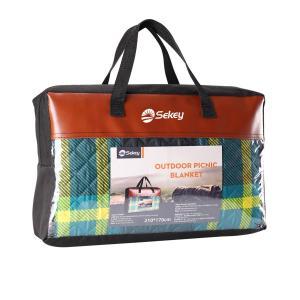 Sekey レジャーシート 170*210cm アウトドア 3層構造 5-7人用  洗濯可能 薄型 撥水 収納便利 持ち運びやすい 折り畳み 丈夫 sekey-online