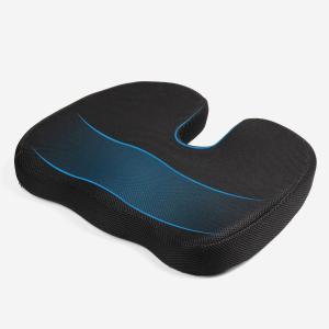MonTrue 低反発 座布団 骨盤サポート 腰痛対策 猫背...