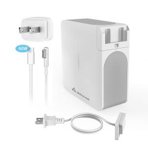 Salcar【PSE認証】60W MagSafe1 L字コネクタ Macbook Pro用 互換 AC 電源アダプタ PC 13.3 inch アップル 充電器 パワーサプライ 1年保証|sekey-online