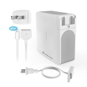 Salcar【PSE認証】 60W MagSafe2 T字 コネクタ Macbook Pro用 互換 AC 電源アダプタ PC 13.3 inch アップル 充電器 パワーサプライ 1年保証|sekey-online