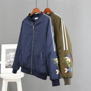 ベーシックショルダージップMA-1ブルゾン レディースジャケット MA-1ジャケット|seki
