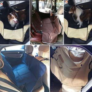 カー用品 犬用品 猫用品 汚れに強い 防水 水洗い対応 アウトドア 車載用 防水シート シートカバー ペット用ドライブシート TC001|seki