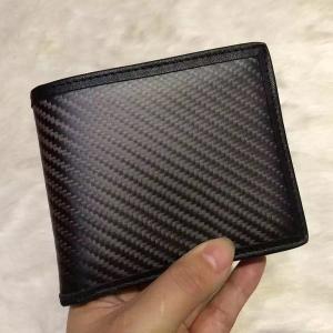 リアルカーボン 本革 レザー 財布 サイフ ウォレット 小銭入れ お札入れ 小物 カード入れ 即納 ファッション XJ003|seki